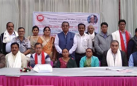 एसोसिएशन ऑफ स्माल एंड मीडियम न्यूजपेपर्स ऑफ इंडिया की राष्ट्रीय कार्यकारिणी की बैठक सम्पन्न हुई।