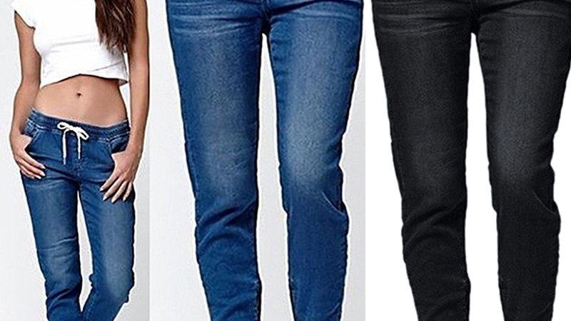 2020 New Autumn Pencil Pants Vintage High Waist Jeans