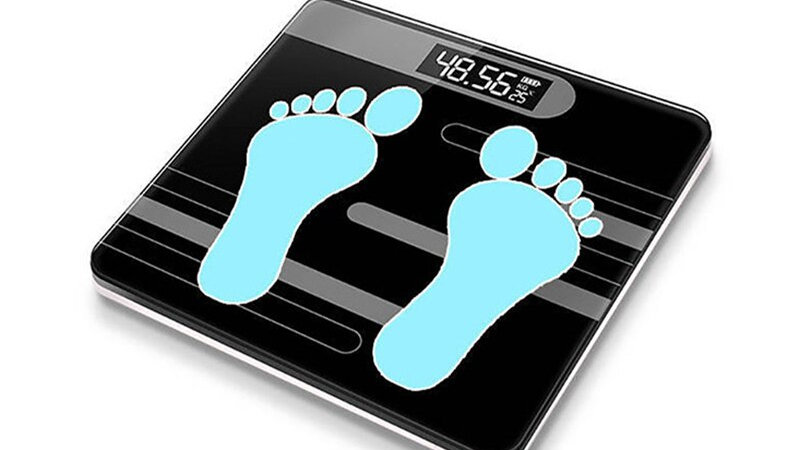 BAISPO Floor Scales Bathroom Scales Electronic for Body Weigh