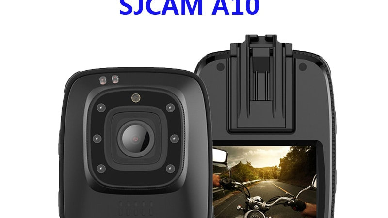 "SJCAM A10 Full HD 1080P 30fps 2"" Wearable Body Cam"