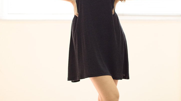 Plaid Bodice Dress