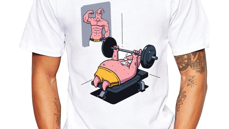 Dragon Ball T Shirt Funny Fitness Tee Men Dragon Ball Z T-Shirt
