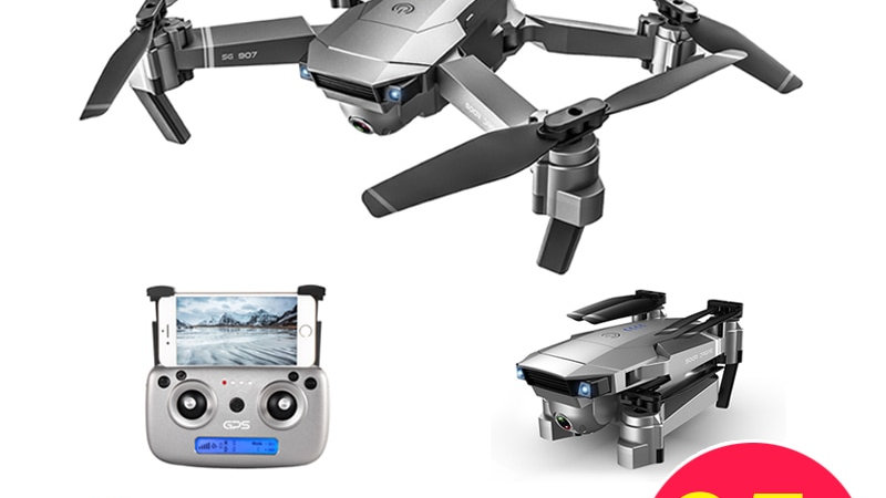 LAUMOX SG907 GPS Drone With 4K HD Adjustment Camera