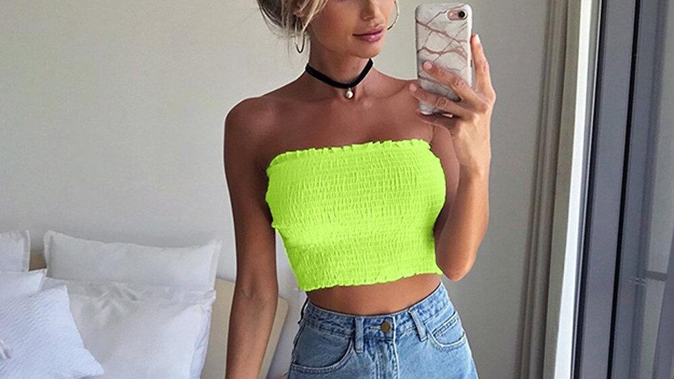 Neon  Summer New Fashion Ladies Sleeveless