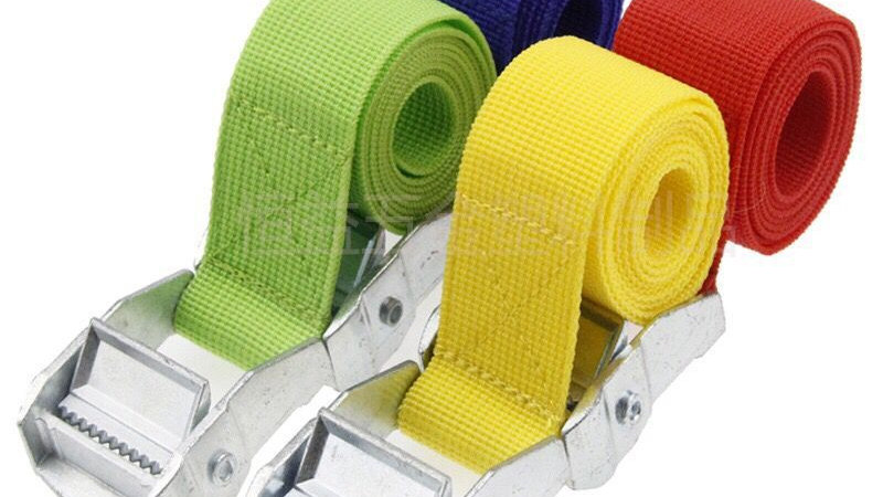 2 M Nylon Rope Belt Car Tension Rope Tie Down Strap