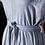 Thumbnail: Vintage Gray Ruffle Dress | Size M