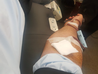 Giving Back by Donating Blood After Notary Services