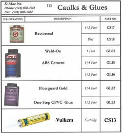Caulks & Glues