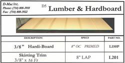 Lumber & Hardboard 2