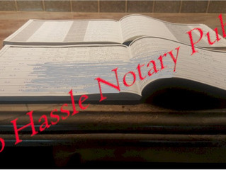 Another Notary Journal Book Finished