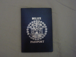 Requirements for Application for Belize Passport