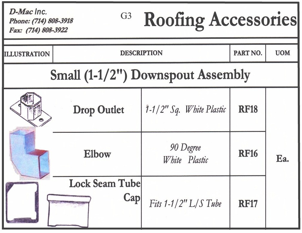 Roofing Accessories 2