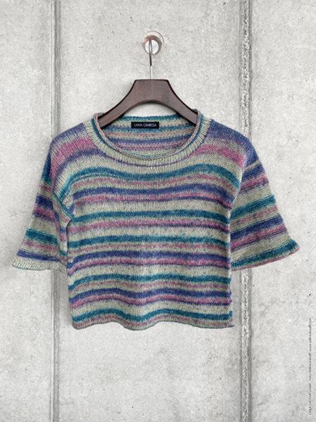 Shirt aus Ecopuno Print