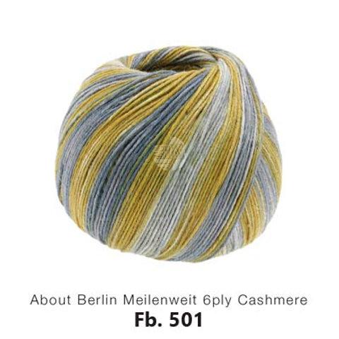 About Berlin Meilenweit 6-ply Caschmere