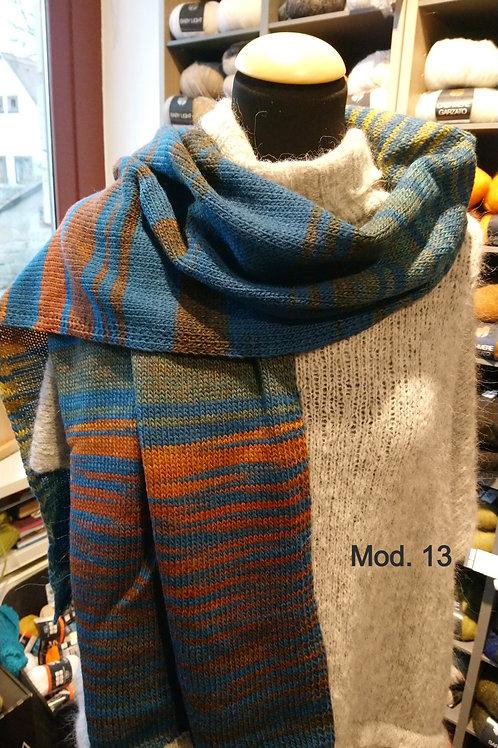 Schal aus  Gomitolo Bene oder Molto