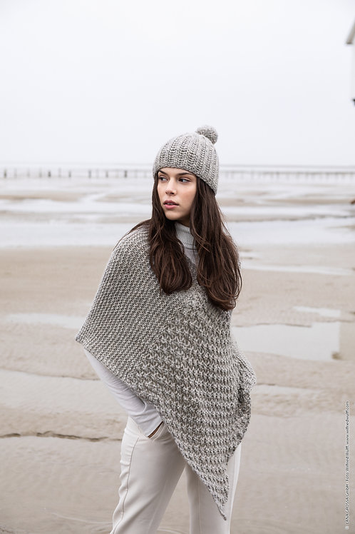 Poncho aus Lala Berlin Lovely Cashmere