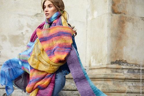 Schal aus Silkhair Haze