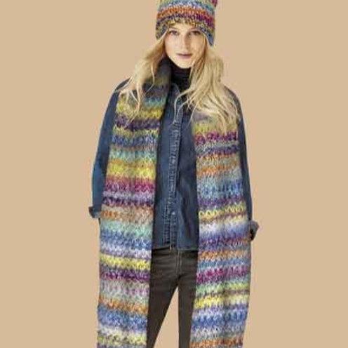 Schal und Mütze aus Olympia