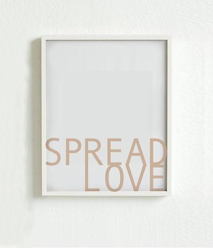 Spread Poster 5 van de Liefde