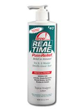 Real Time Pain relief Lotion 12 oz