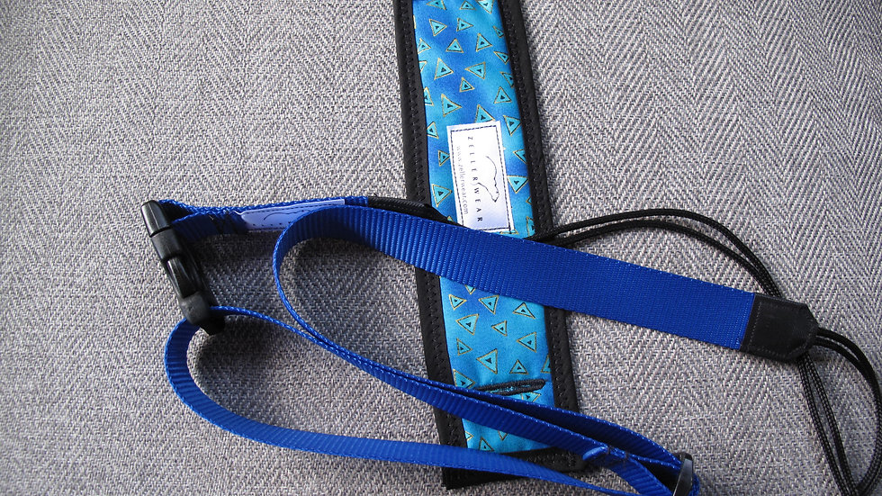 Blue Uke Strapz with Comfort Cushion
