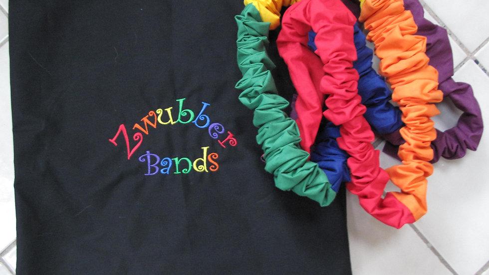 Zwubber Bands - Set of 6