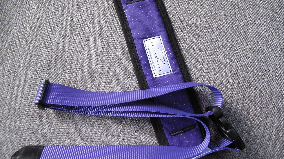 Purple Uke Strapz with Comfort Cushion