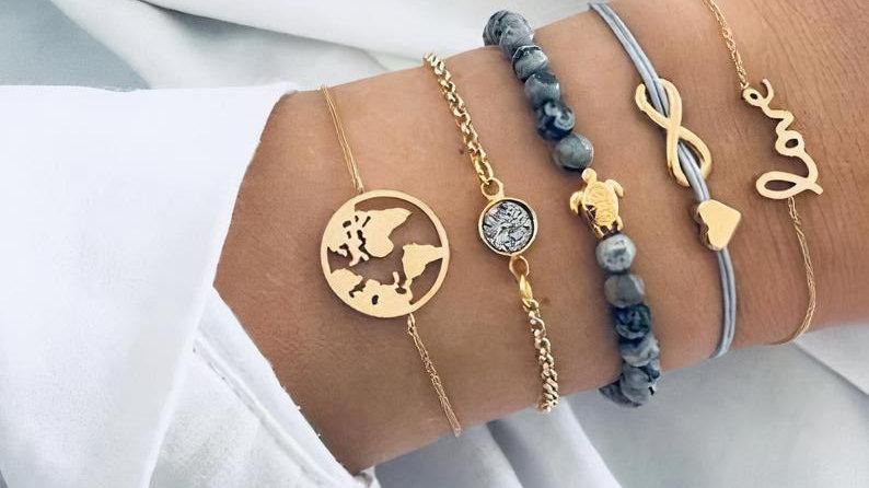 Peaker Stacked Bracelet Set