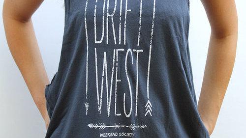"""""""Drift West"""" Tank"""