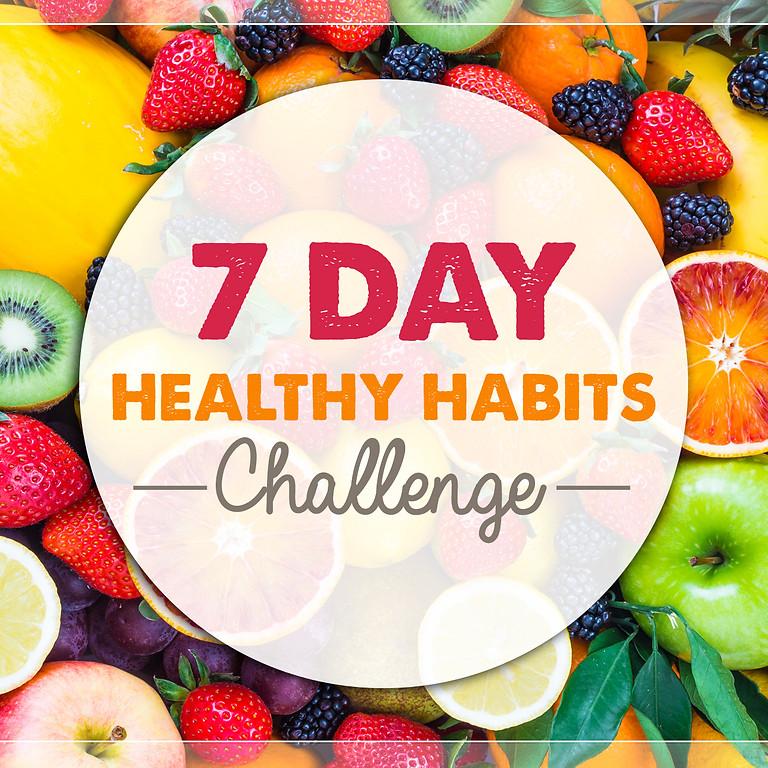 7-Day Healthy Habits Challenge