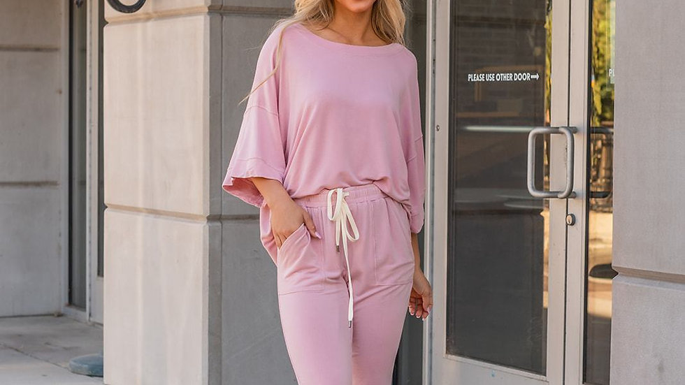 Lazy Weekend French Terry Top