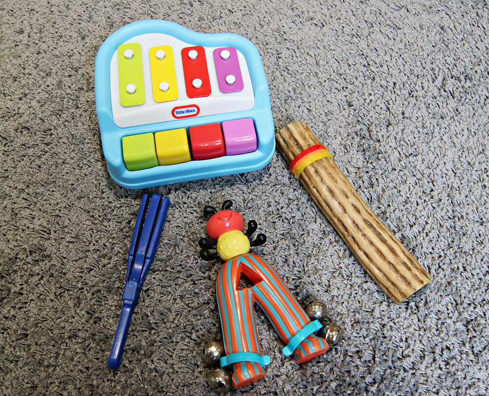 Include a variety of instruments during song time