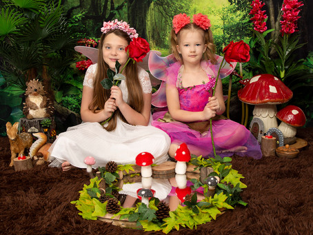 Themed Fantasy Photoshoots & Imaginary Play at Gemerations Photography