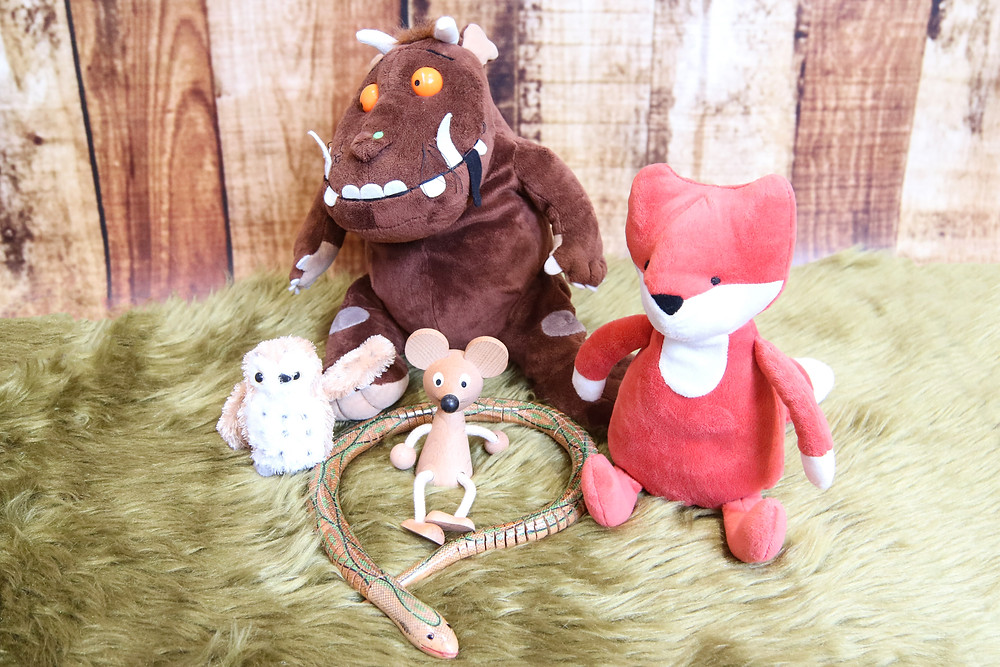 The Gruffalo Character Props for the Story