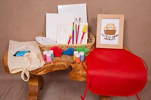 Paint Splash Basket | Little Gems Baskets | Norfolk | Norwich | Creative Basket | Sensory Play