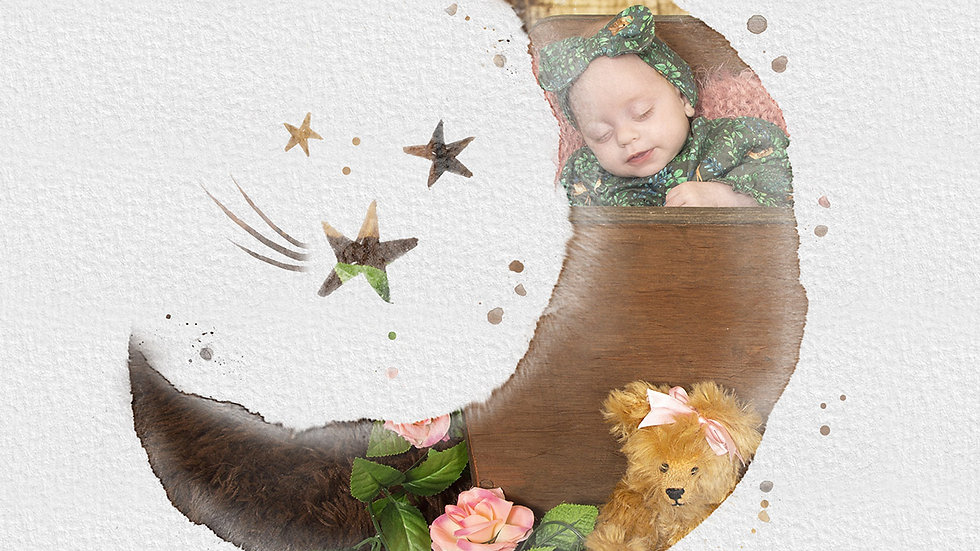 Newborn Digital Art Package for Gemerations Photography Customers Only
