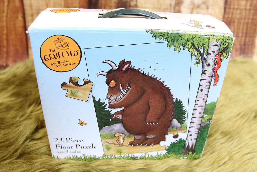 A Gruffalo Puzzle in the Story Sack