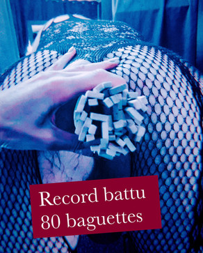 Baguettes chinoises : record battu !