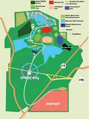 Walt Disney World 1966 Map