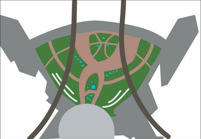 Epcot Enterance layout - 2013