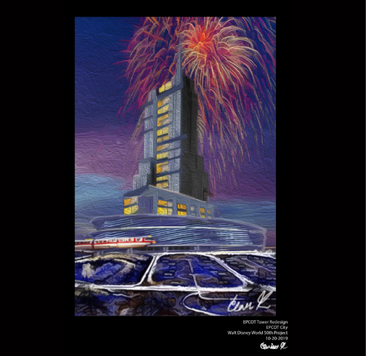 Epcot Tower Revitalized