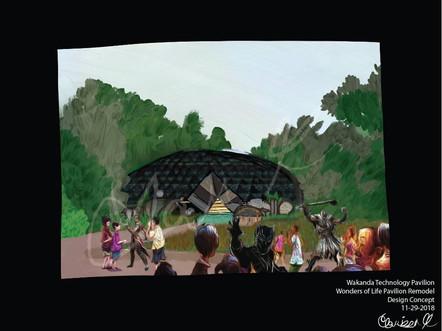 Wakanda Technologies Pavilion - 11/29/2018