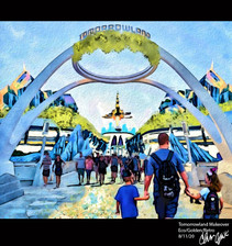 Tomorrowland Exterior Rennovation - 08/11/2020