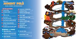 Mount Pele Indoor Waterpark Map - 2013