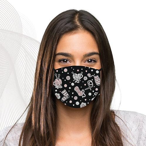 Masques avec filtre thème tricot