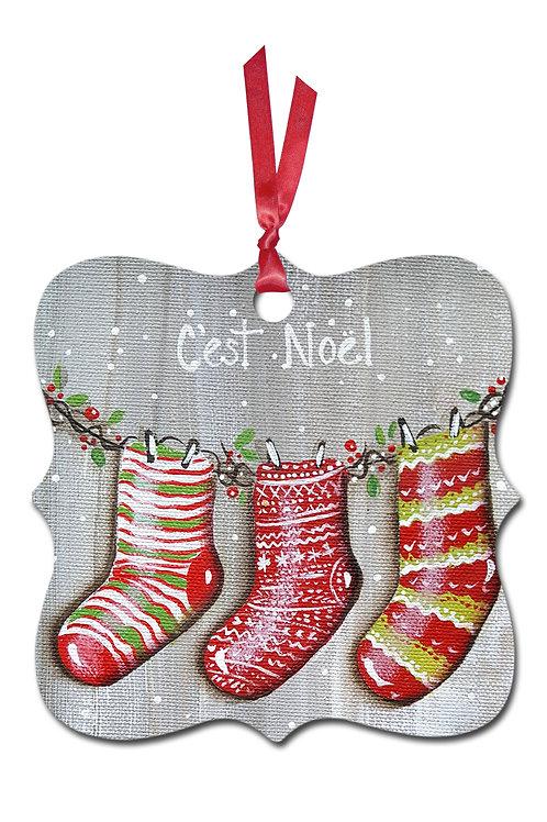 Ornement de Noël Z10-011