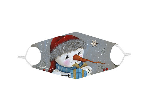 Masque avec filtre Bonhomme de neige