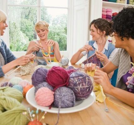 Cours de tricot avec Charlène Dunn