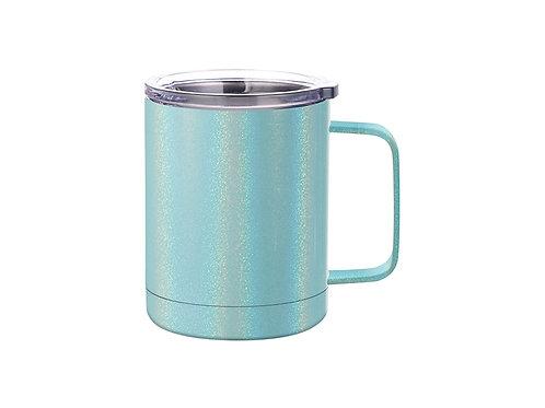 Tasse à café en acier inoxydable scintillant de 10 oz / 300 ml