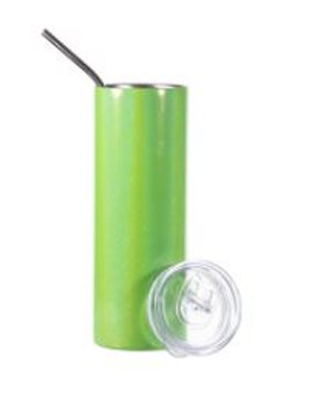 Gobelet mince en acier inoxydable scintillant vert 20 oz AC- 592